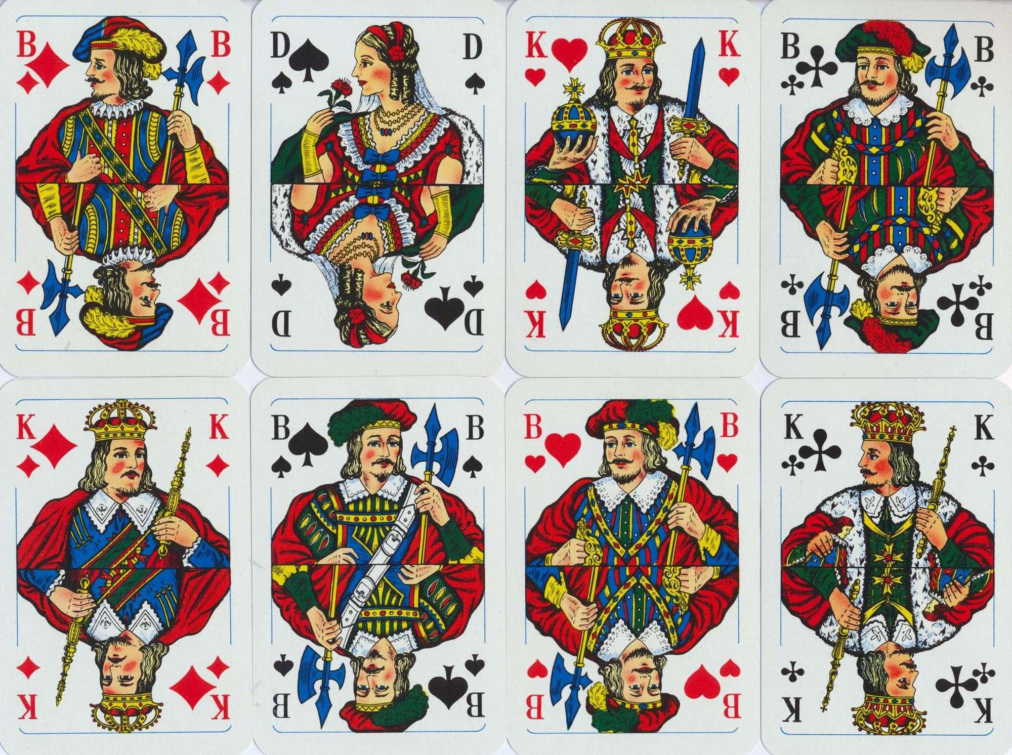 König Spielkarte